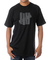 Undefeated 5 Strike Black Tee Shirt