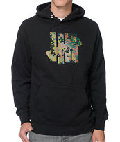 Undefeated 5 Strikes Black & Army Camo Pullover Hoodie