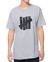 Undefeated Ascender 5 Strike Greay Tee Shirt