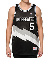 Undefeated Blaze Basketball Jersey Tank Top