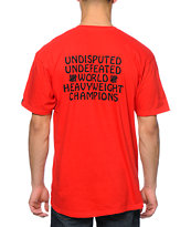Undefeated Champions Red Tee Shirt