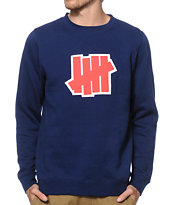 Undefeated Double 5 Strike Crew Neck Sweatshirt