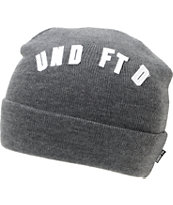 Undefeated Felt Grey Fold Beanie