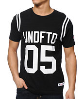 Undefeated Gridiron Black Tee Shirt