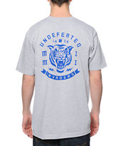 Undefeated Invaders Grey Tee Shirt