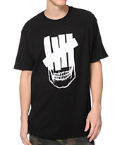 Undefeated Skull Strike Black Tee Shirt