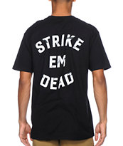 Undefeated Strike Em Dead Black Tee Shirt
