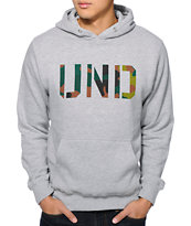 Undefeated UND Camo Heather Grey Pullover Hoodie