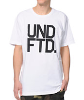 Undefeated UNDFTD White Tee Shirt