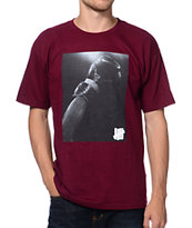 Undefeated Victory Burgundy Tee Shirt