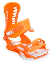 Union Atlas Hazard Orange 2014 Snowboard Bindings
