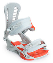 Union Atlas Stone & Red 2014 Snowboard Bindings