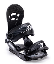 Union DLX Black Snowboard Bindings