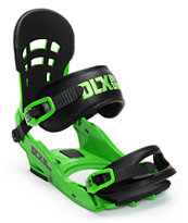 Union DLX Green 2014 Snowboard Bindings