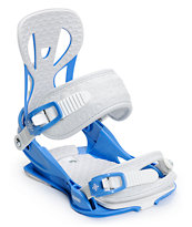 Union Flite Blue Girls 2014 Snowboard Bindings