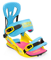 Union Flite CMYK 2014 Snowboard Bindings