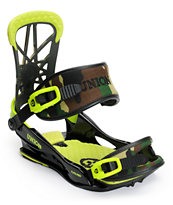 Union Flite Pro Camo 2014 Snowboard Bindings