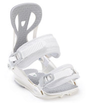 Union Flite White Women's 2013 Snowboard Bindings