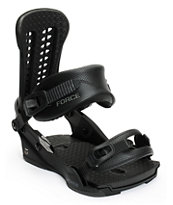 Union Force Matte Black Snowboard Bindings