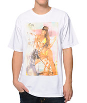 Unit Boulevard Ride White Tee Shirt