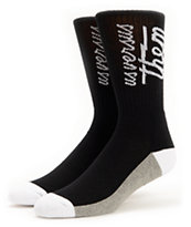 Us Versus Them Magnum Black Crew Socks