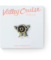 Valley Cruise Press Donuts Lapel Pin