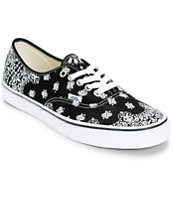 Van Authentic Bandana Skate Shoes