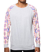 Vandal Filtered Floral Long Sleeve T-Shirt