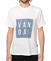 Vandal Paisley Clouds T-Shirt