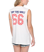 Vans 66 Dots & Checkered Fill Muscle Tee