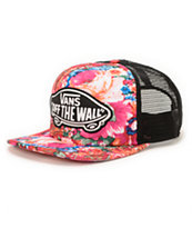 Vans Attendance Floral Trucker Hat