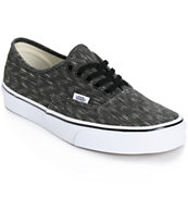 Vans Authentic Denim Chevron Shoes