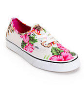 Vans Authentic Hawaiian Floral Shoes
