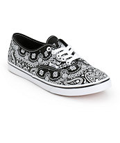 Vans Authentic Lo Pro Bandana Shoes