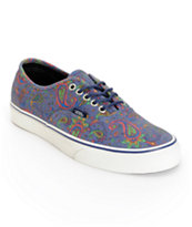 Vans Authentic Paisley Shoes