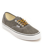 Vans Authentic Washed Black Shoes
