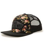 Vans Beach Girl Floral Trucker Hat