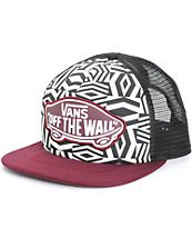 Vans Beach Girl Geo Trucker Hat