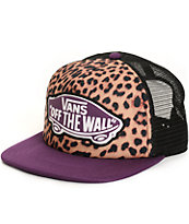 Vans Beach Girl Leopard Trucker Hat