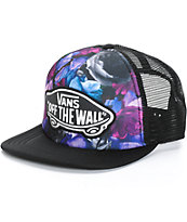Vans Beach Girl Multi Digi Floral Trucker Hat