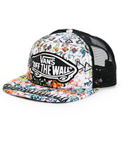 Vans Beach Girl White Sand Trucker Hat
