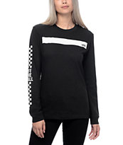 Vans Boxed In Black Long Sleeve T-Shirt