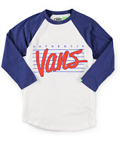 Vans Boys Authentic Baseball T-Shirt