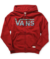 Vans Boys Classic Zip Up Hoodie