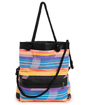 Vans Breakers Cream Stripe Beach Bag