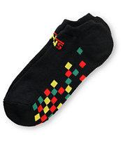 Vans Chex Rasta Ankle Socks
