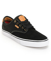 Vans Chima Pro Black, White, & Tan Skate Shoe