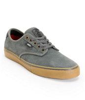 Vans Chima Pro Charcoal & Gum Suede Skate Shoe