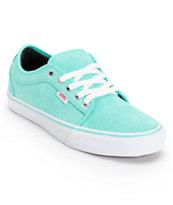 Vans Chukka Low Seafoam Suede Skate Shoe