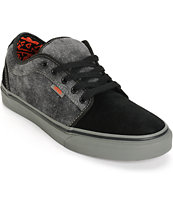 Vans Chukka Low Washed Denim Skate Shoes